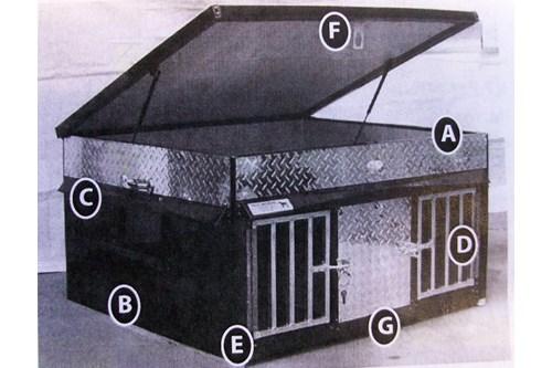 regal dog box sacandaga dog supply. Black Bedroom Furniture Sets. Home Design Ideas